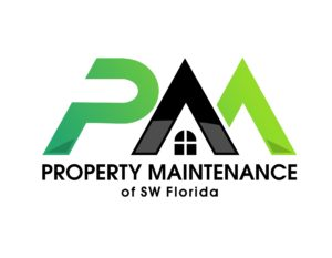 professional property maintenance services logo